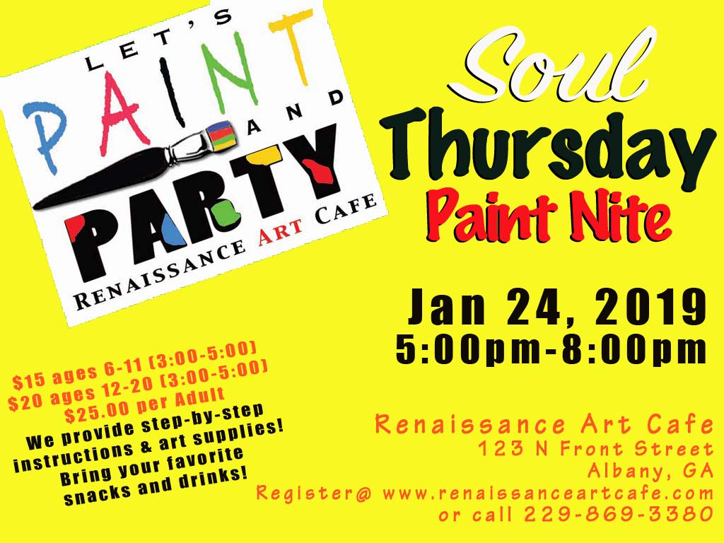 Soul Thursday Paint Night