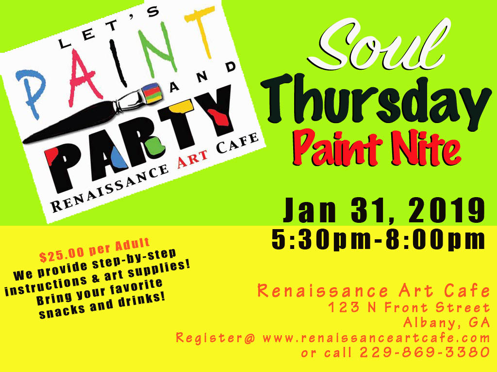 Soul Thursday Paint Night
