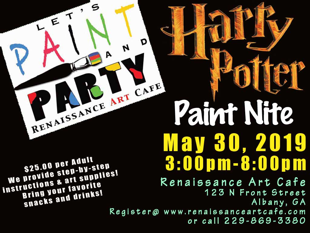 Harry Potter Paint Nite