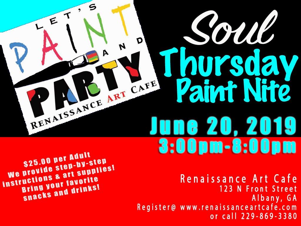 Soul Thursdays Paint Nite