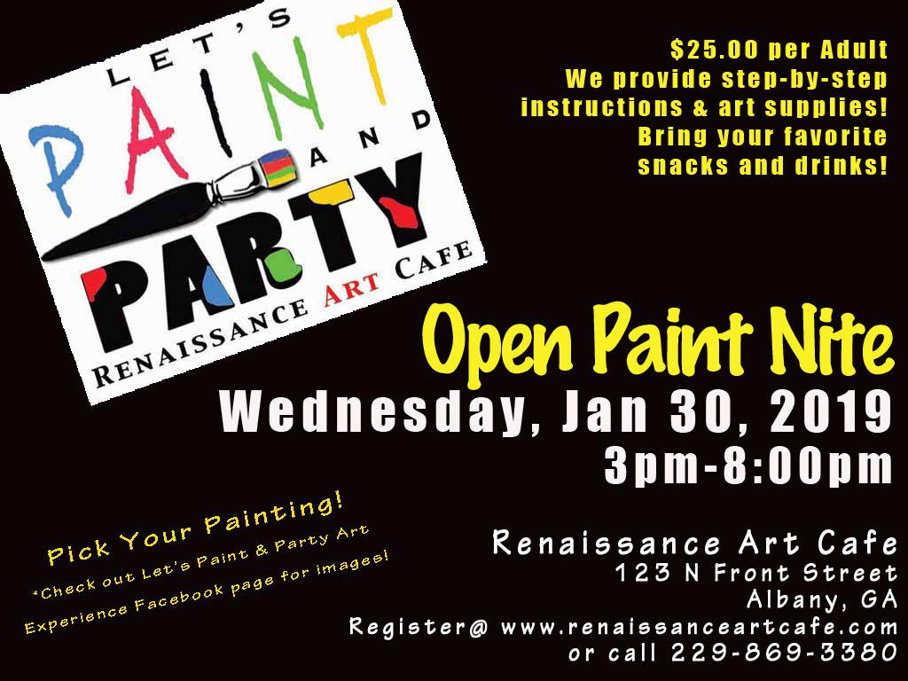 Open Paint Nite!