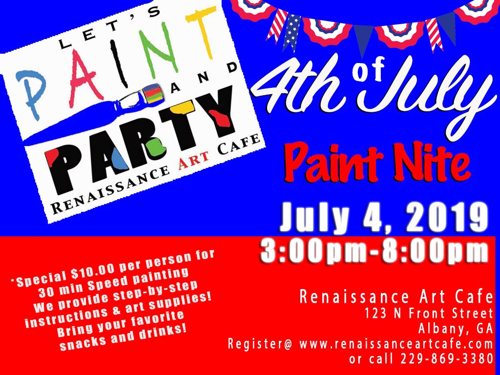 4th of July Paint Nite
