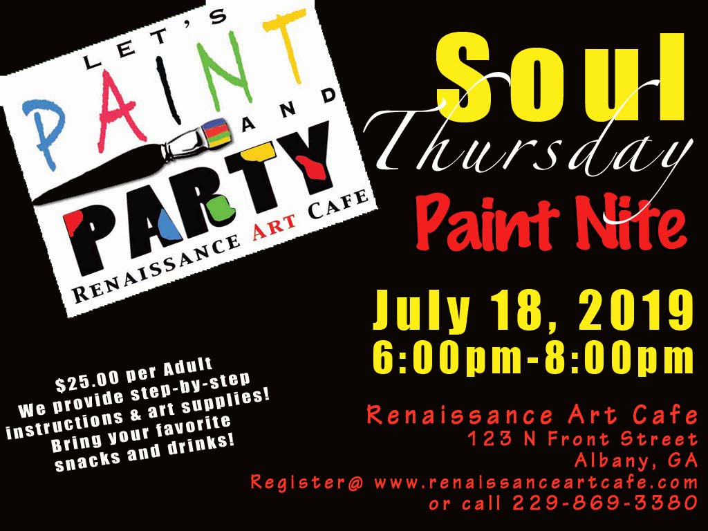 Soul Thursday Paint Nite
