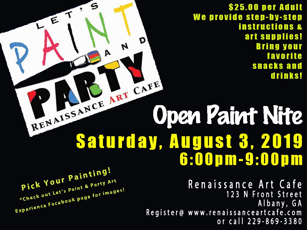 Open Paint Nite!