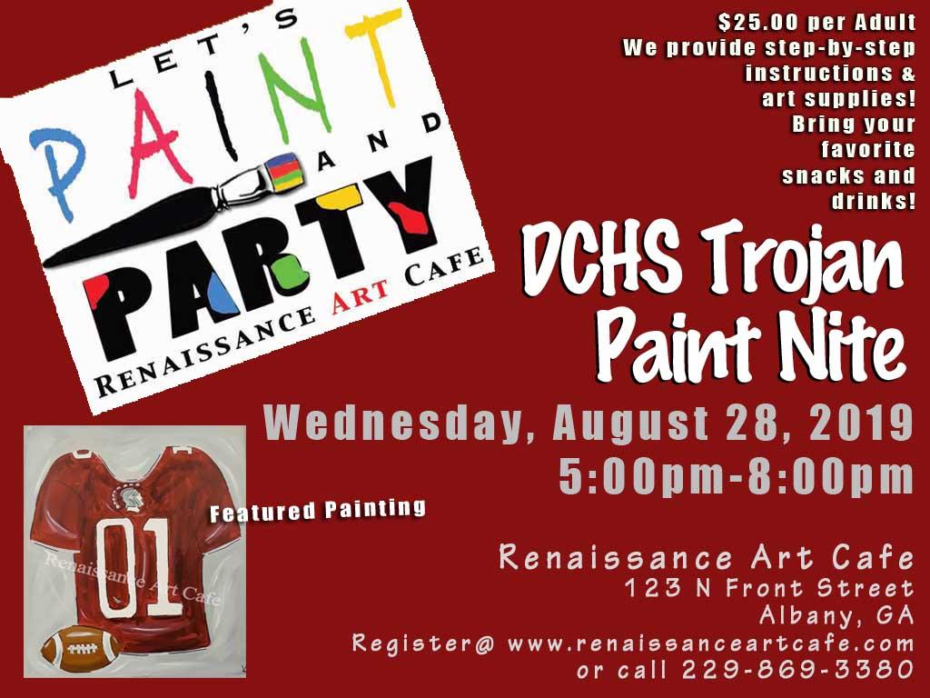 DCHS Trojan Paint Nite