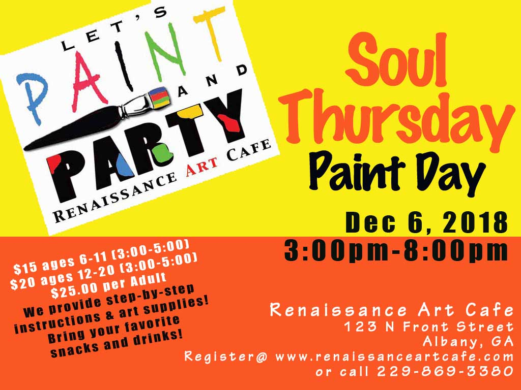 Soul Thursday Paint Day
