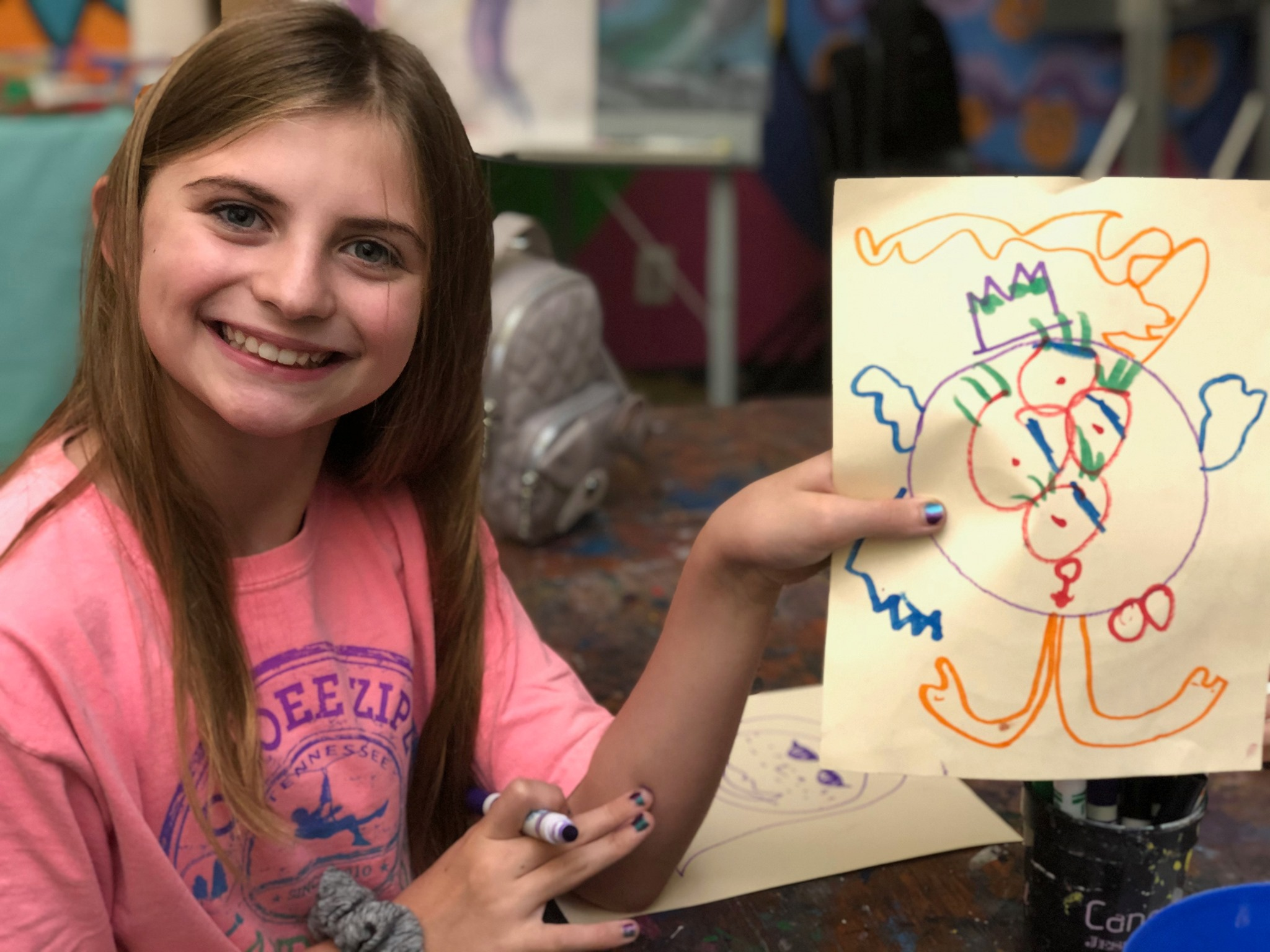 Parents Holiday Recovery Art Workshop