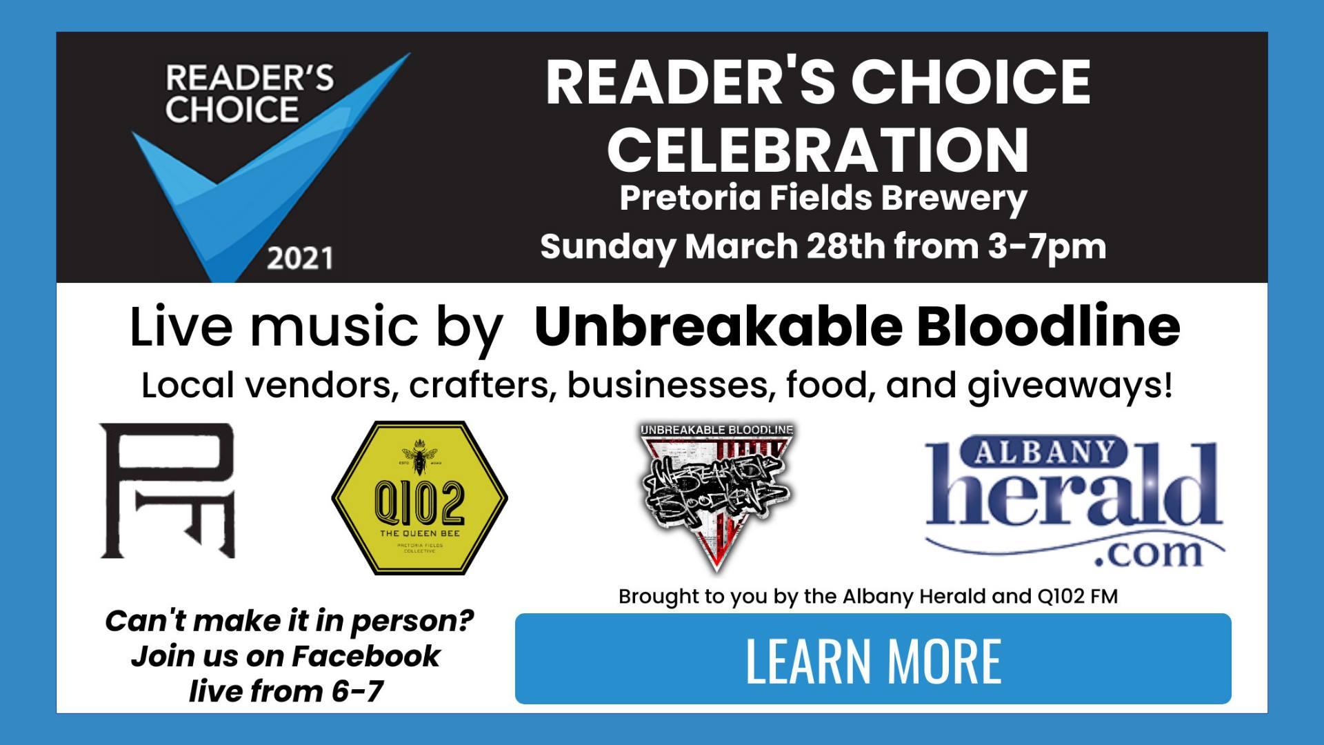 Reader's Choice Celebration