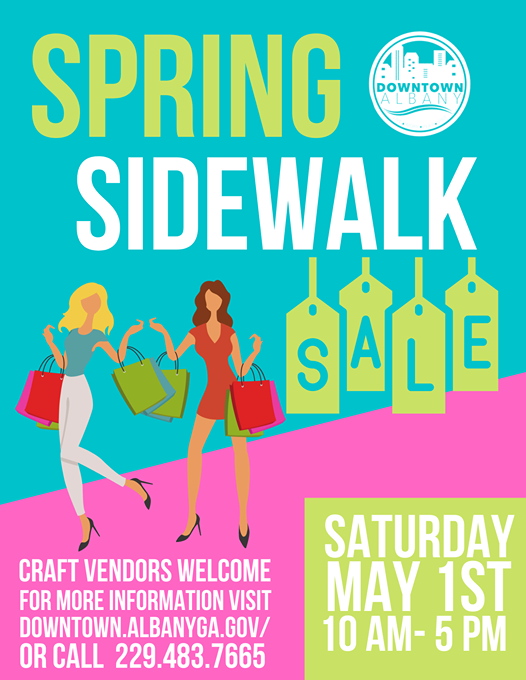 First Annual Downtown Spring Sidewalk Sale