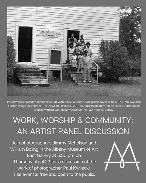 Work, Worship & Community Panel Discussion