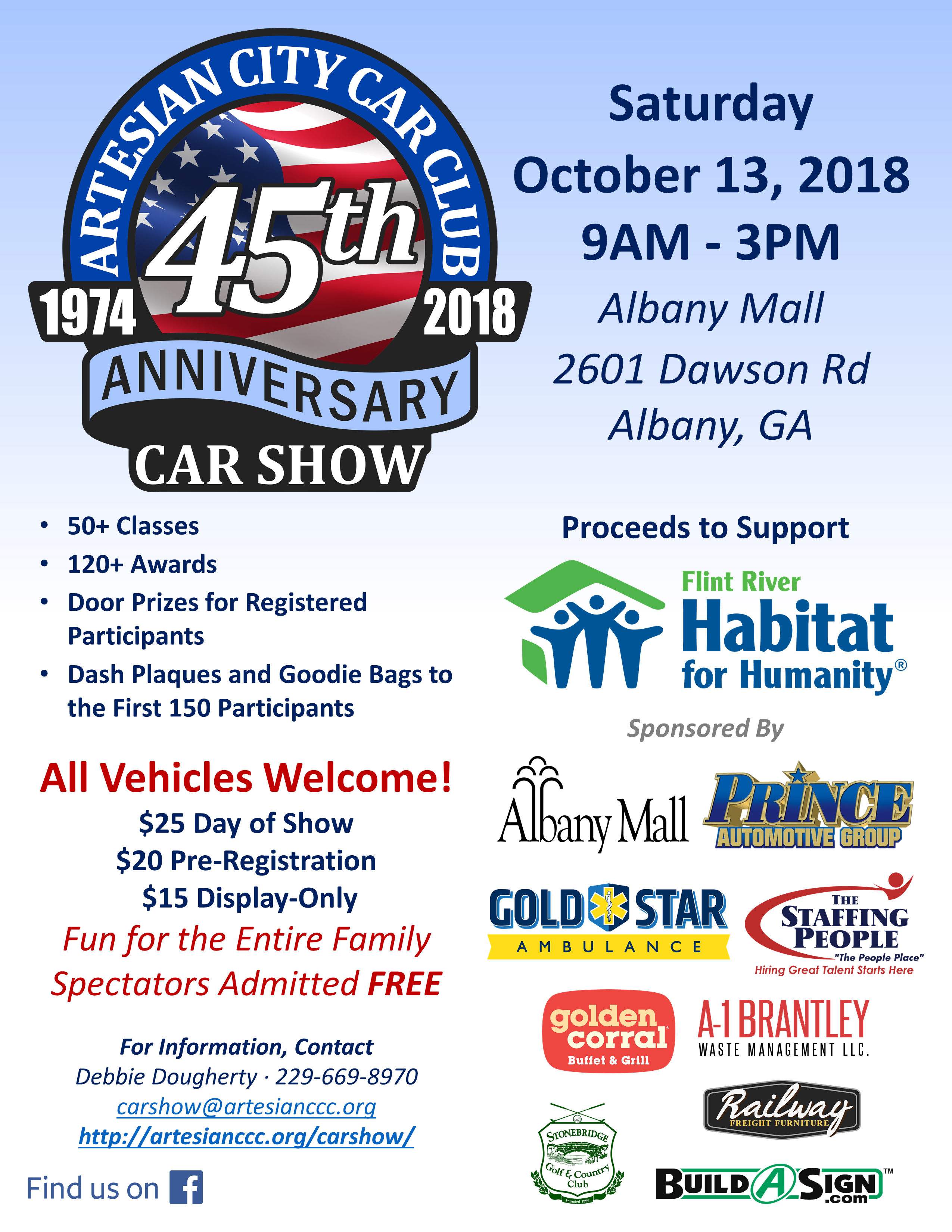 Artesian City Car Club 45th Anniversary Car Show