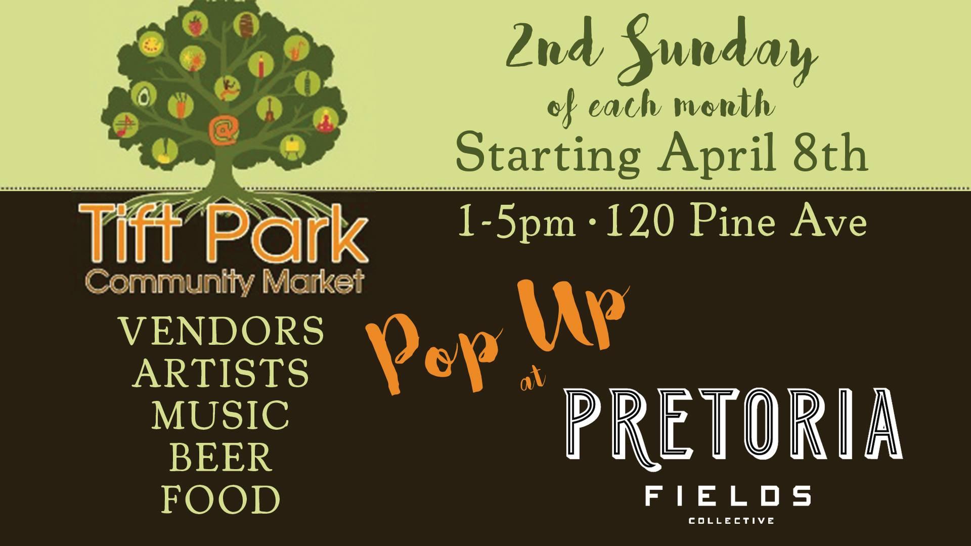 Tift Park Community Market Pop-Up at Pretoria!