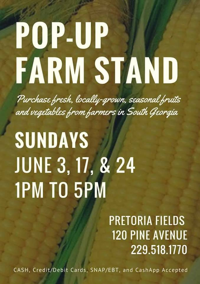 Pop-Up Farm Stand at Pretoria Fields