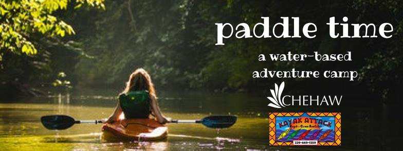 Paddle Time: A Water-Based Adventure Camp