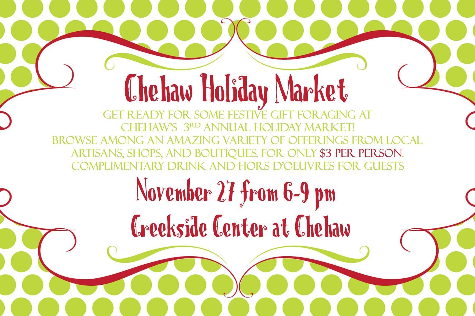 Chehaw Holiday Market