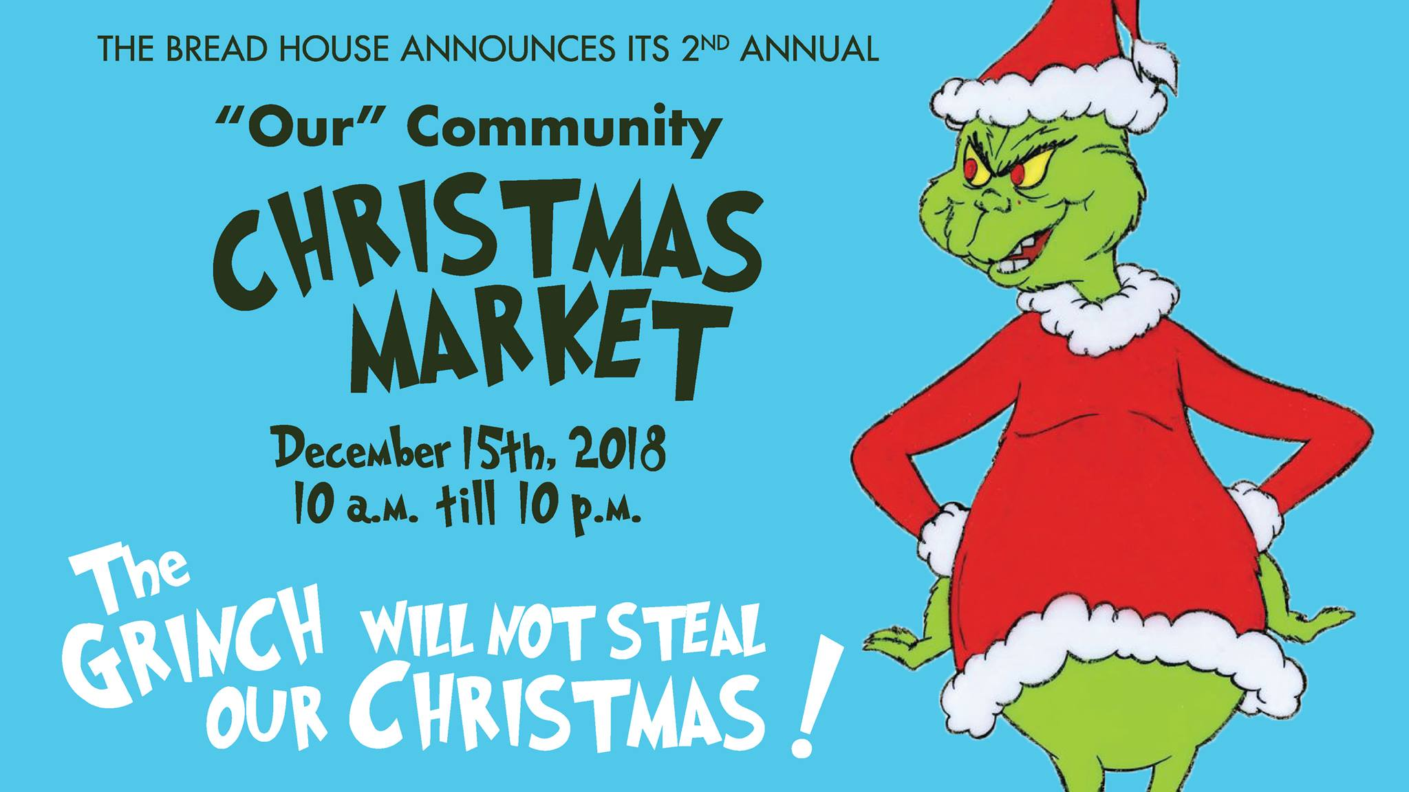 2nd Annual Community Christmas Market