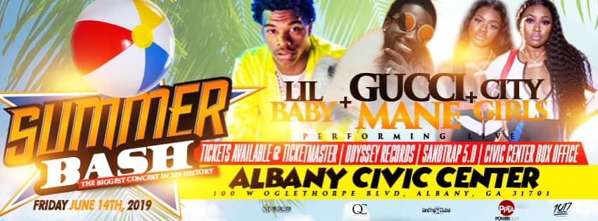 Gucci Mane + Lil Baby + City Girls Live in Concert!