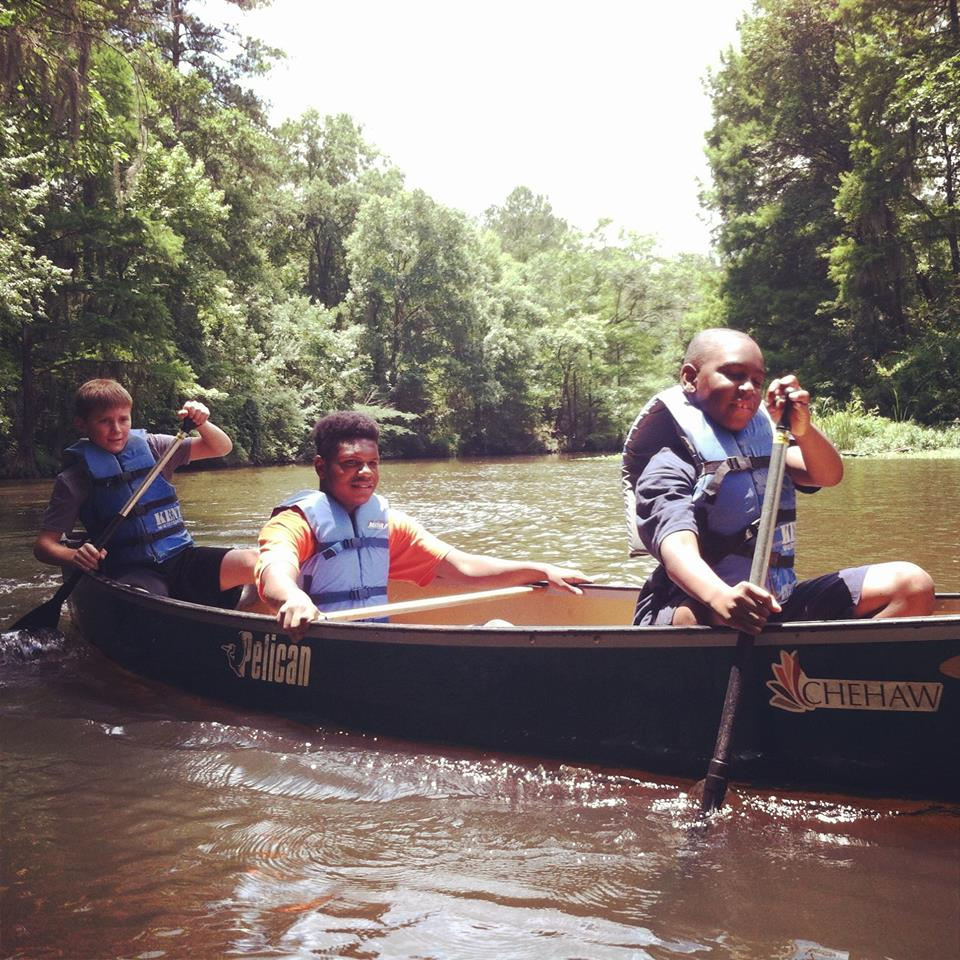 Paddle Time Camp at Chehaw