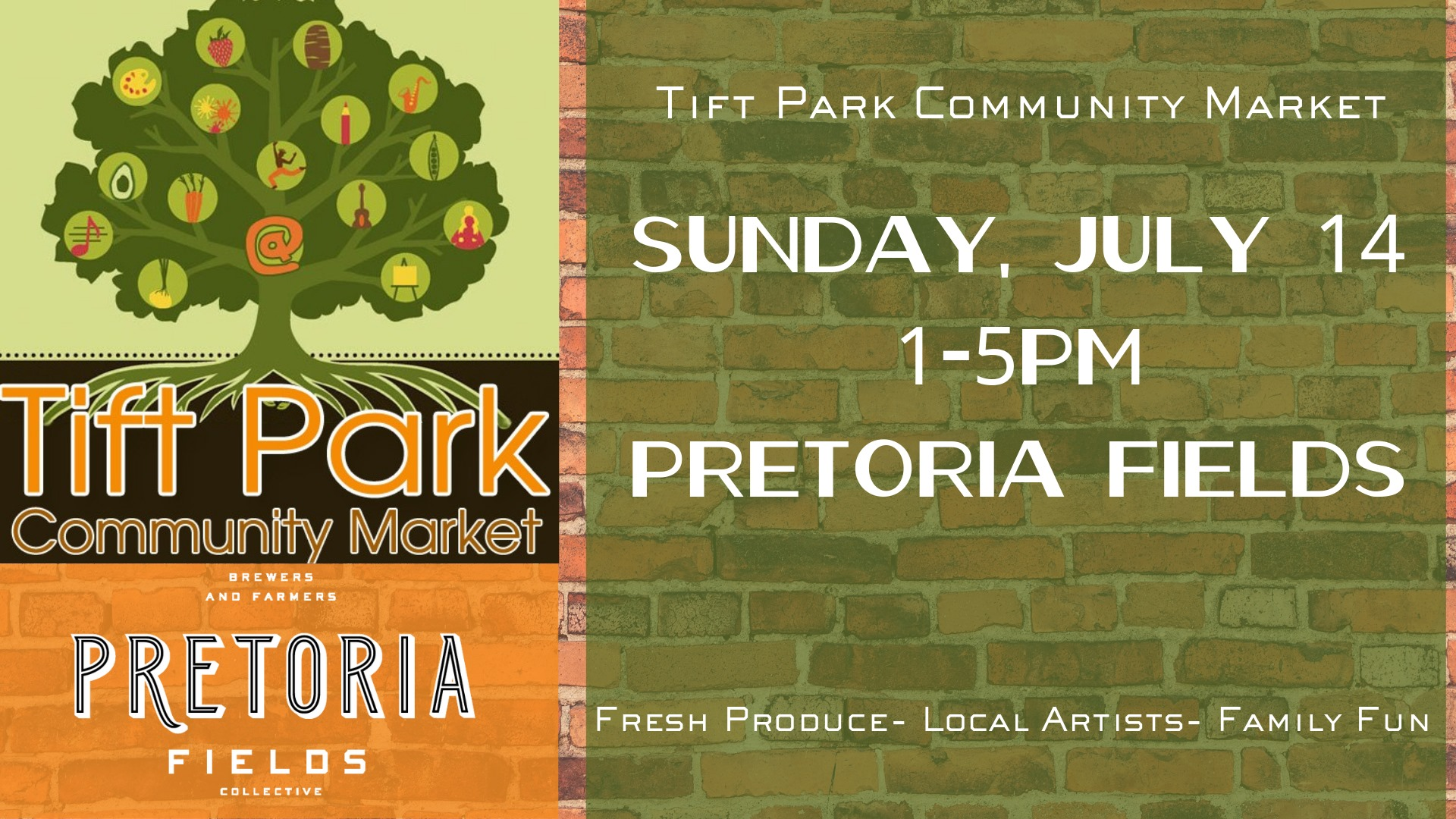 Second Sunday Tift Park Community Pop Up!