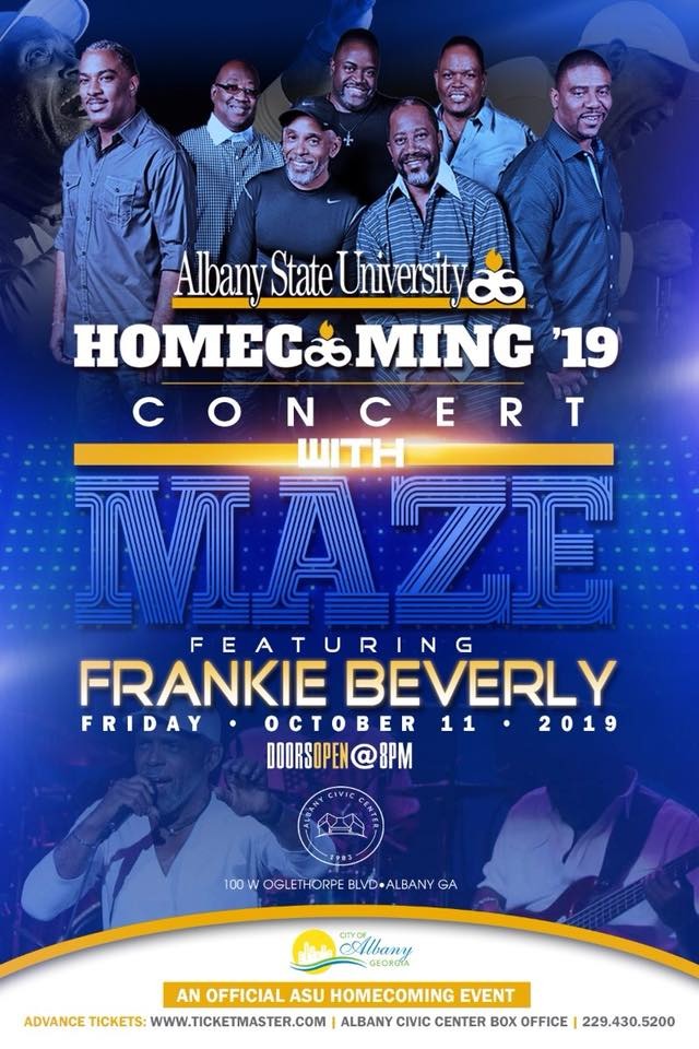 Albany State University Homecoming '19 Concert with Maze