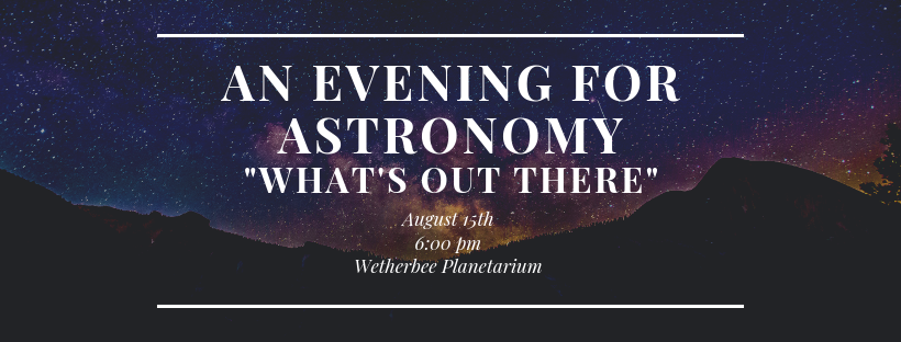 An Evening for Astronomy
