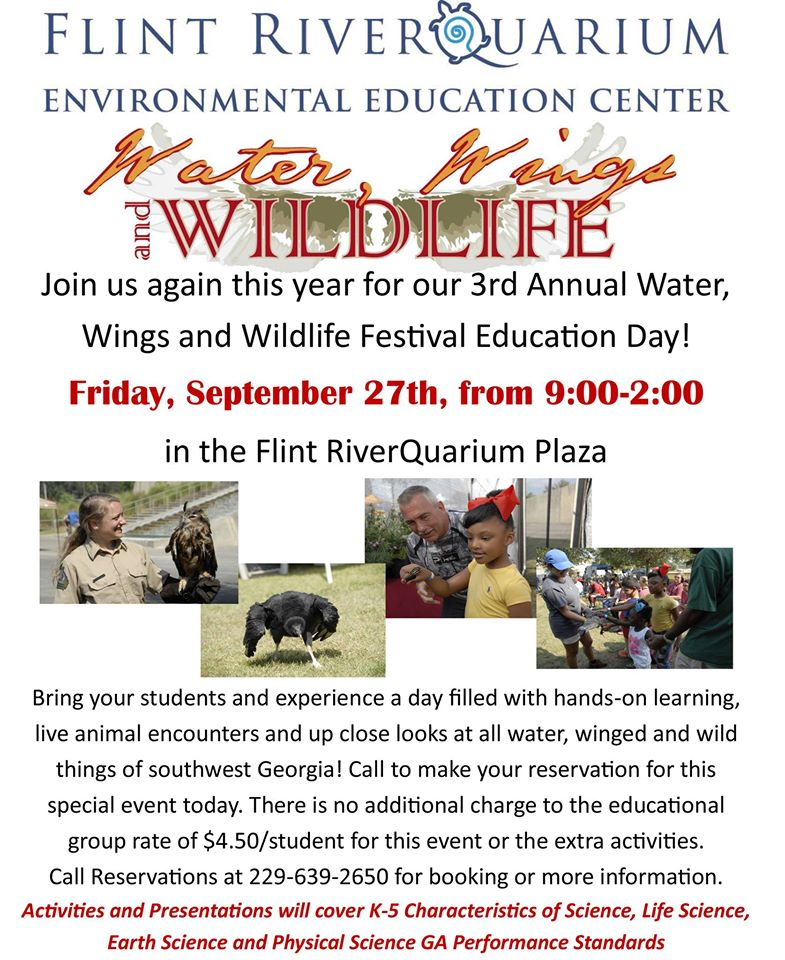 Water Wings & Wildlife Education Day