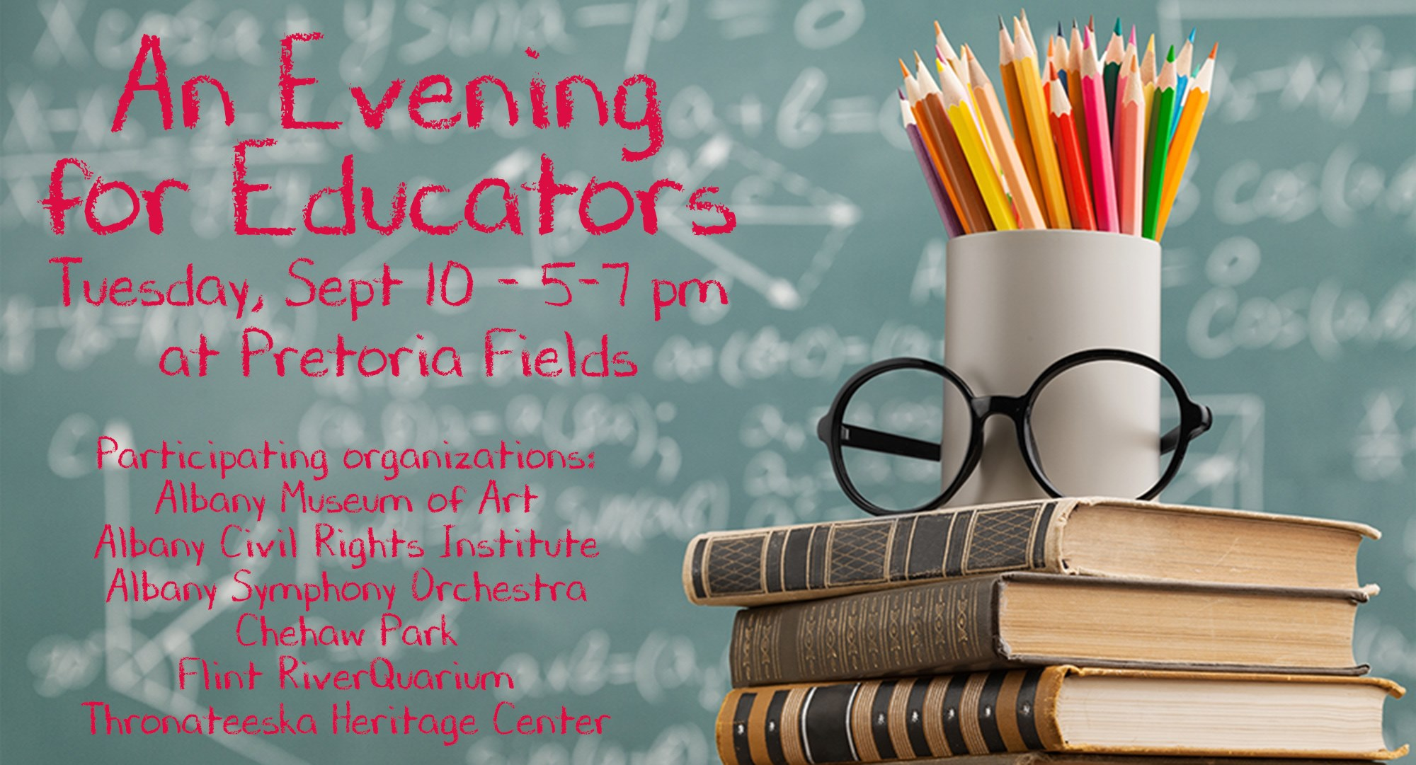 An Evening for Educators