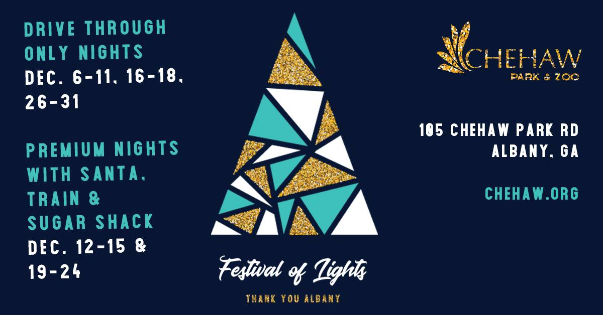 Festival of Lights at Chehaw