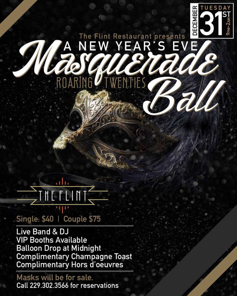 A New Year's Eve Masquerade Ball