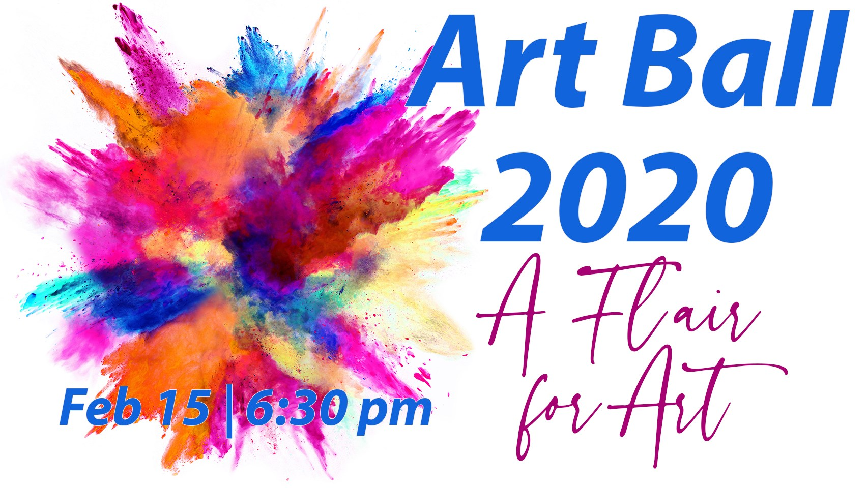 Art Ball 2020: A Flair for Art
