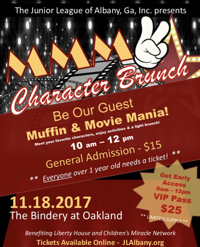 Character Brunch: Muffin & Movie Mania, the sequel