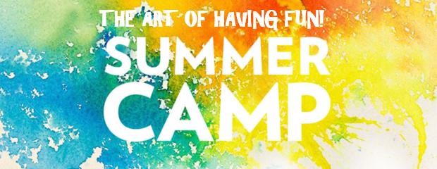 Summer Luau Art Camp
