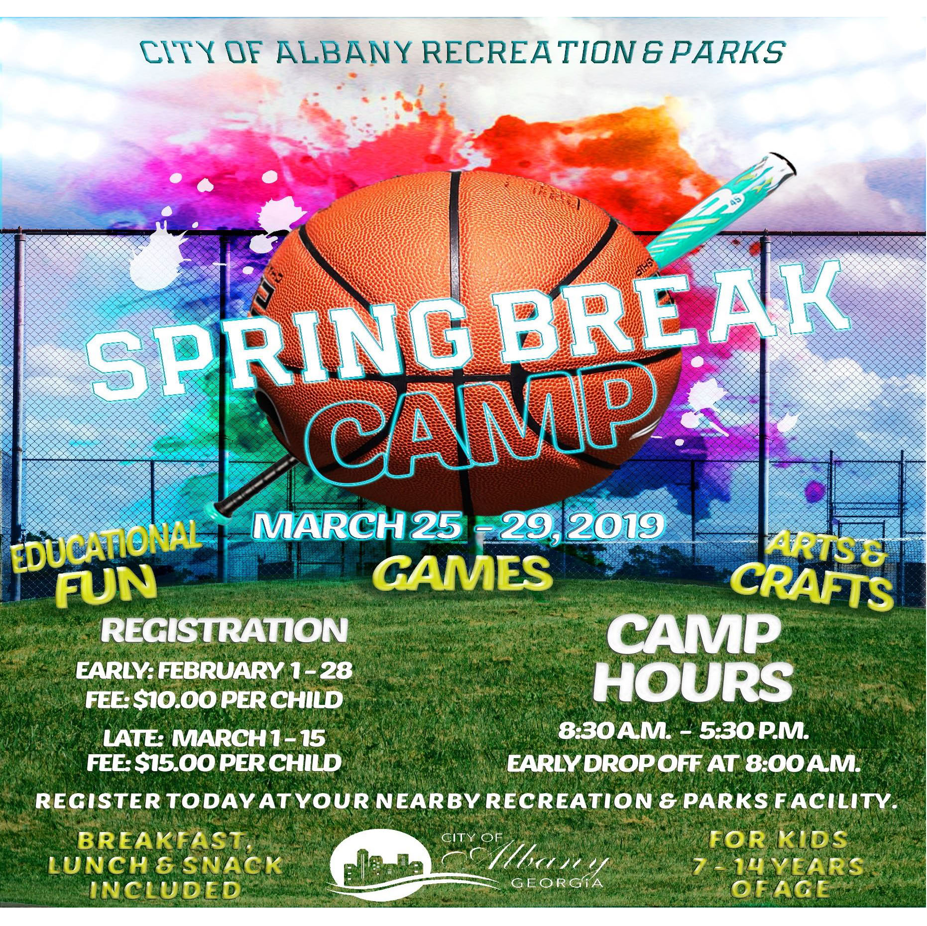 ARPD Spring Break Camp