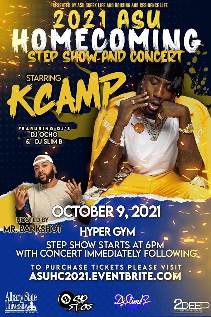 ASU Homecoming Step Show Starring K Camp