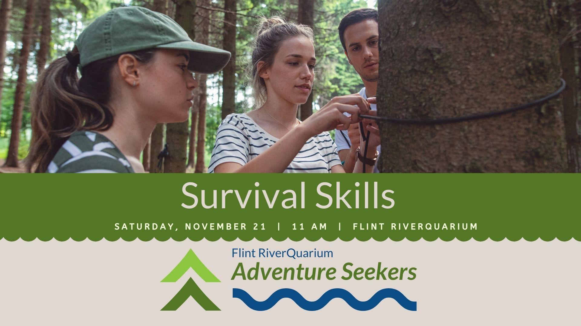 Adventure Seekers: Survival Skills