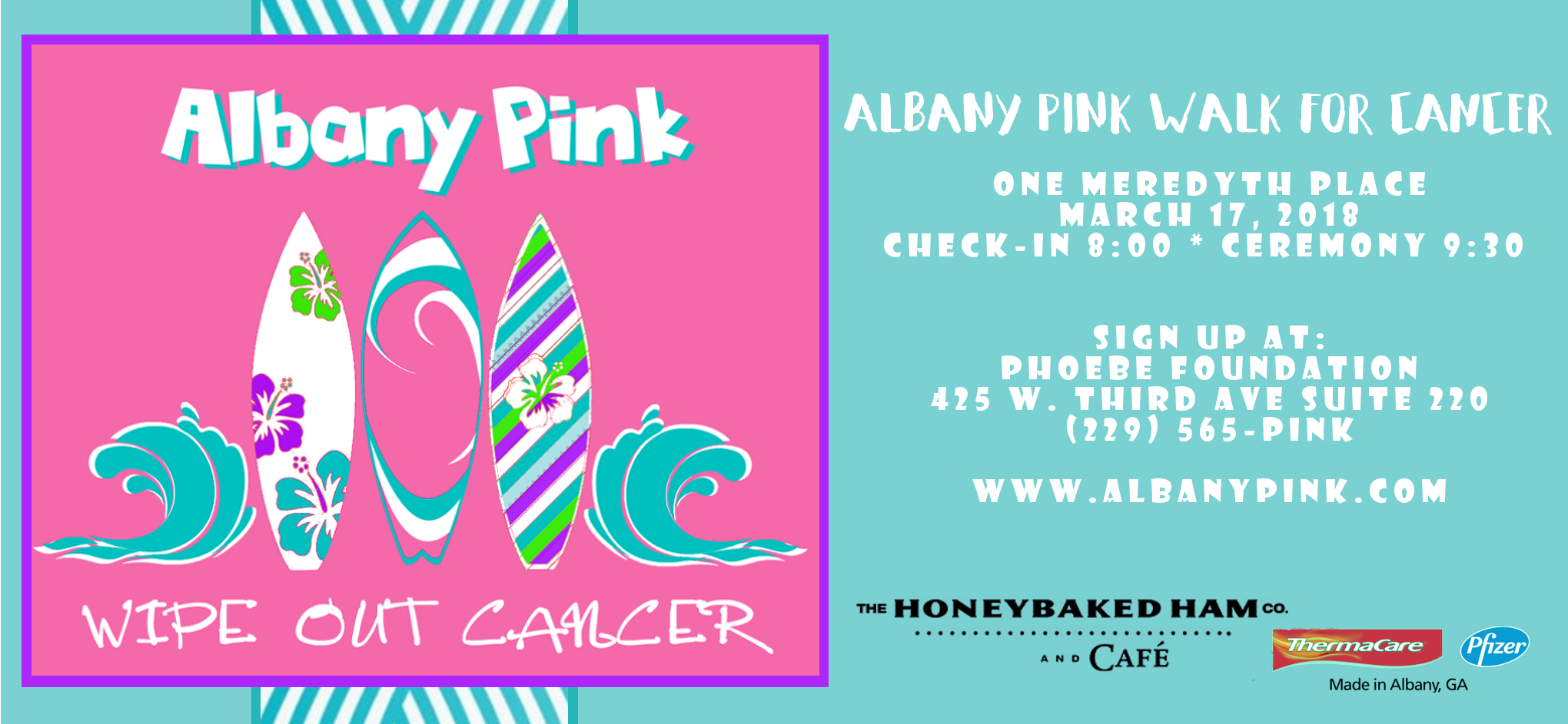 Albany Pink Signup Sale