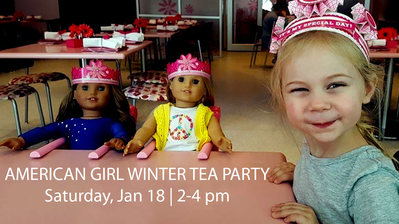 American Girl Winter Tea Party