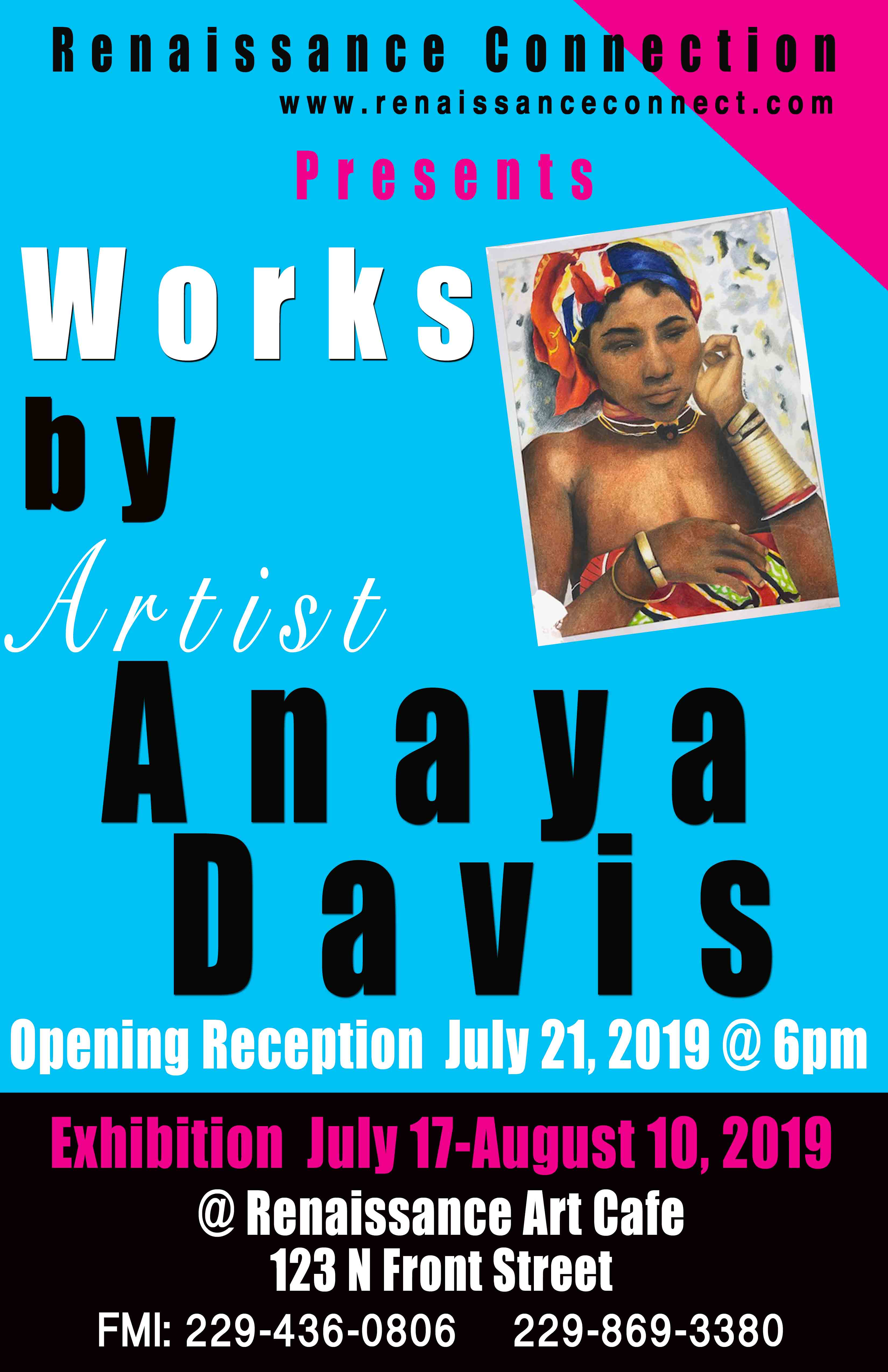 Works by Artist Anaya Davis