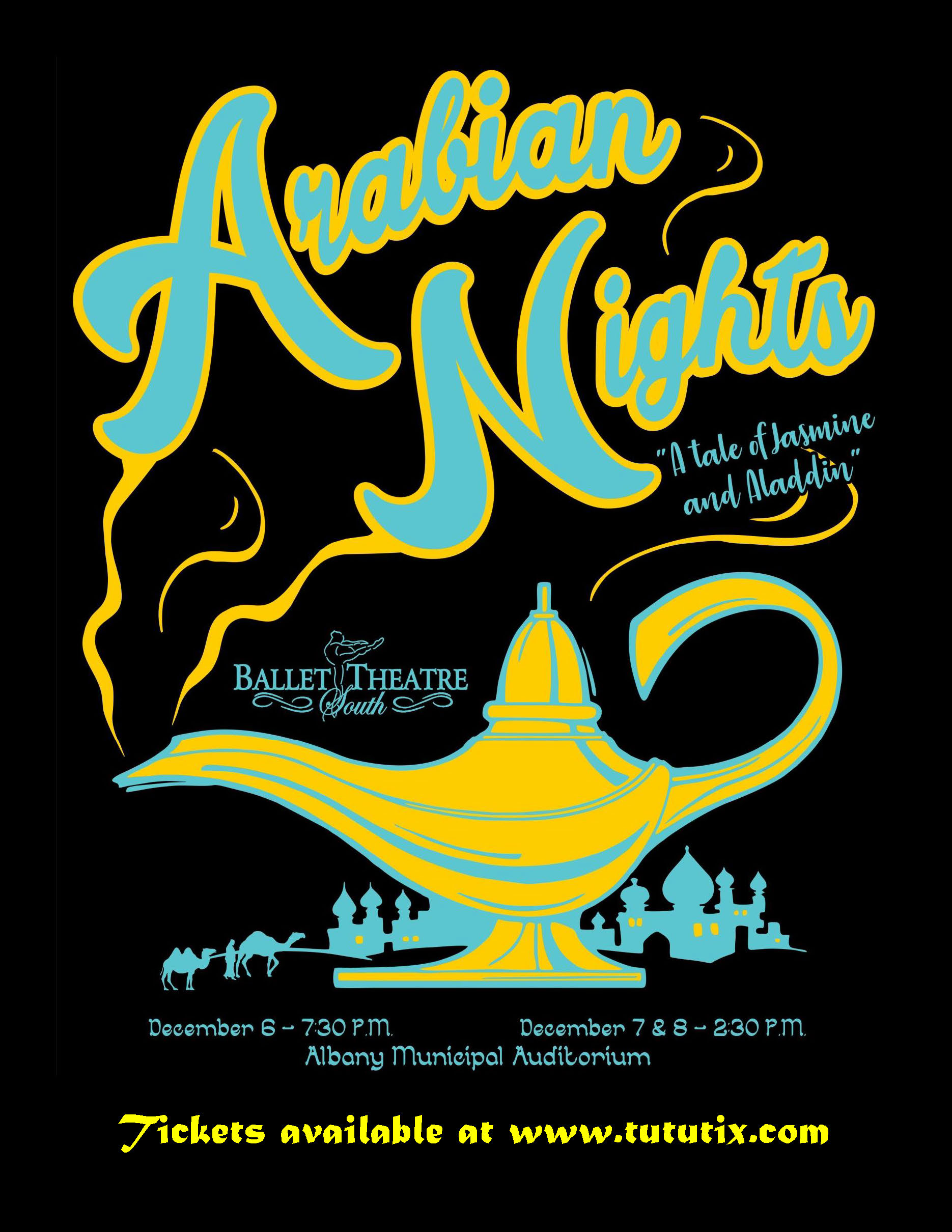 "Arabian Nights ""A Tale of Jasmine and Aladdin"""