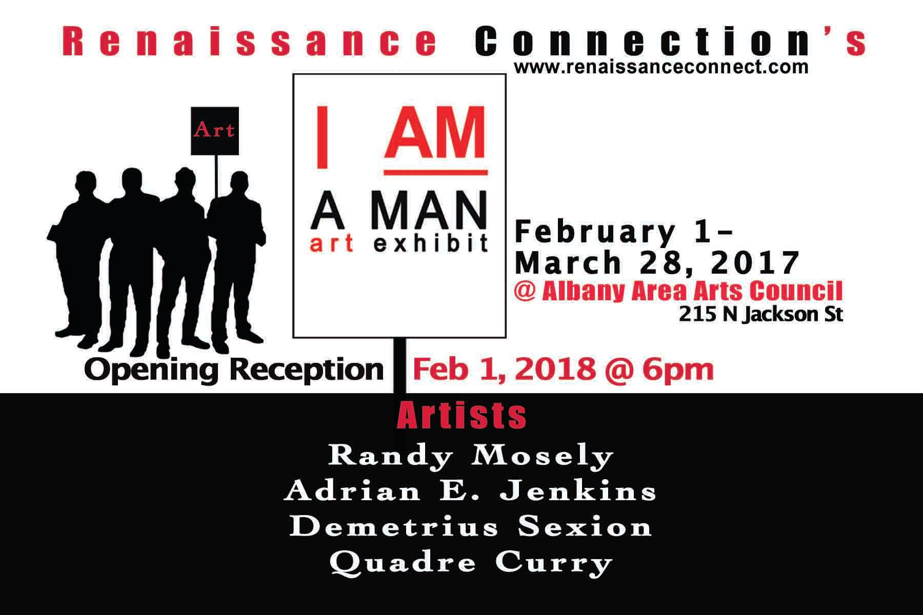 Renaissance Connection's I Am a MAN Art Exhibit