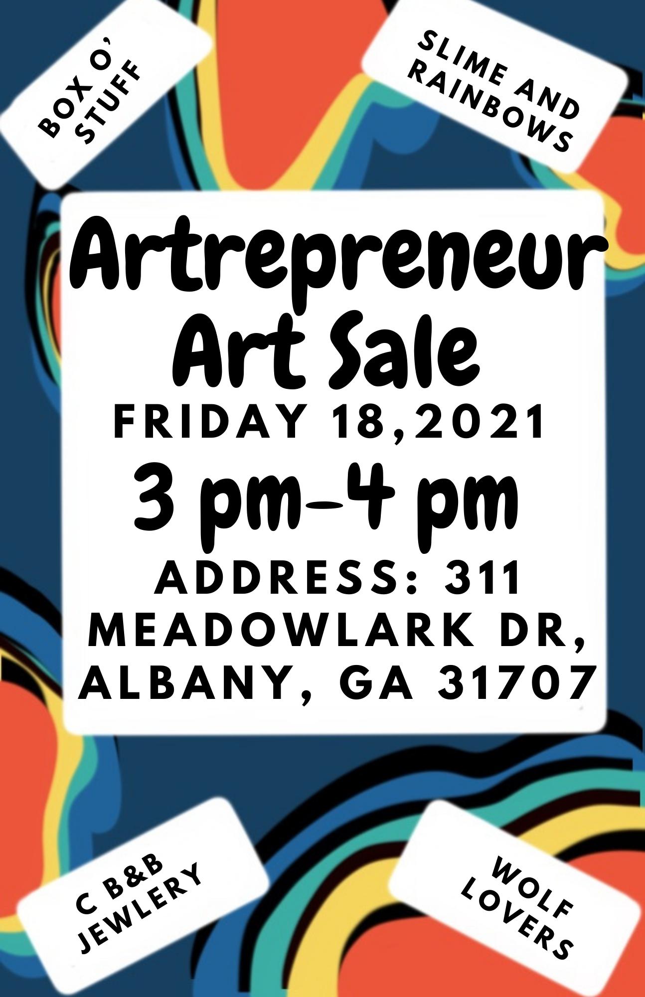 Artrepreneur Art Sale