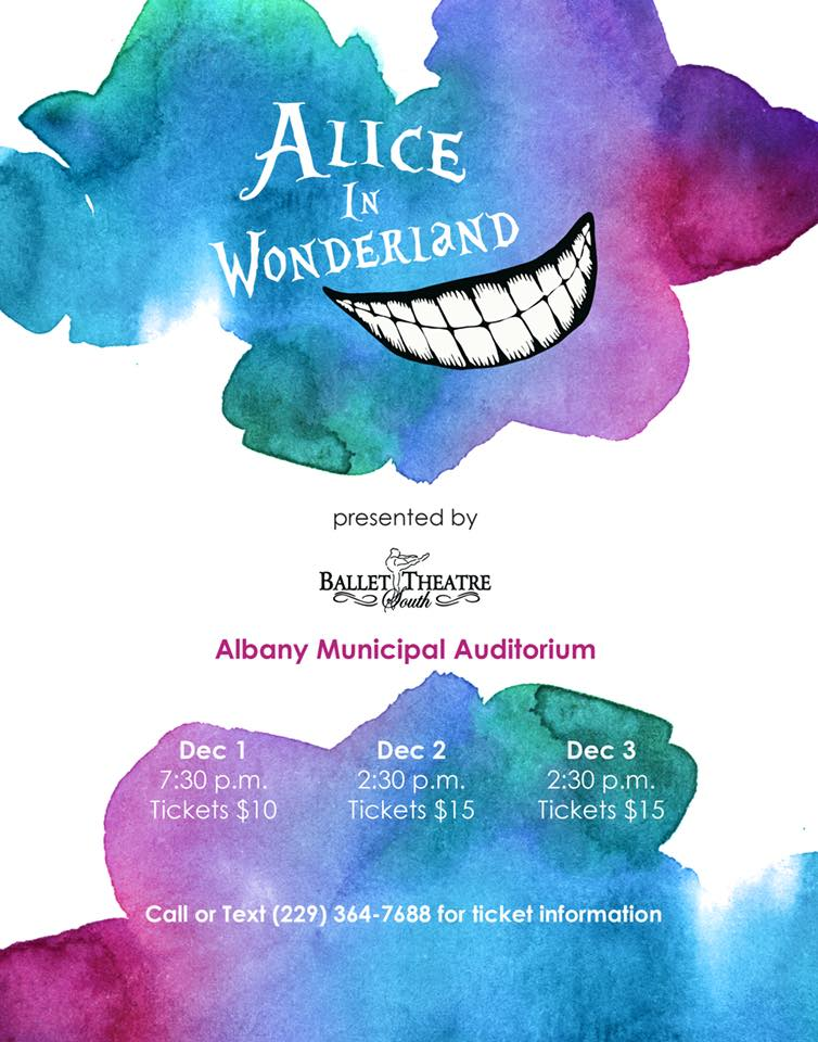 "Ballet Theatre South Presents ""Alice in Wonderland"""