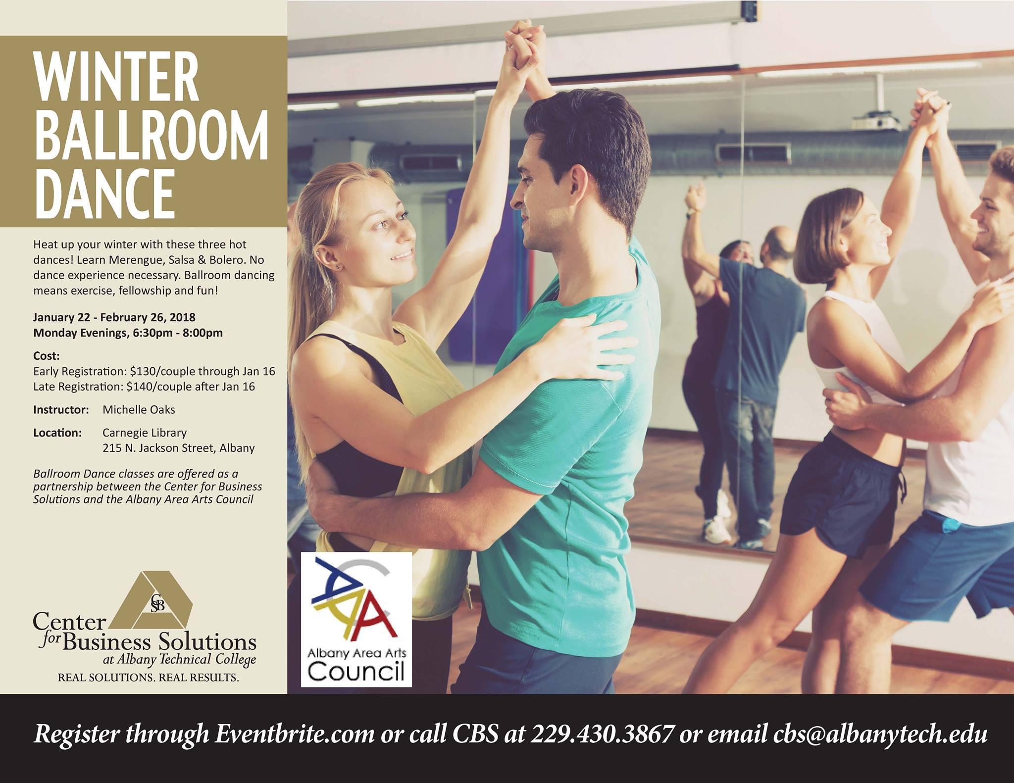 Winter Ballroom Dance Class
