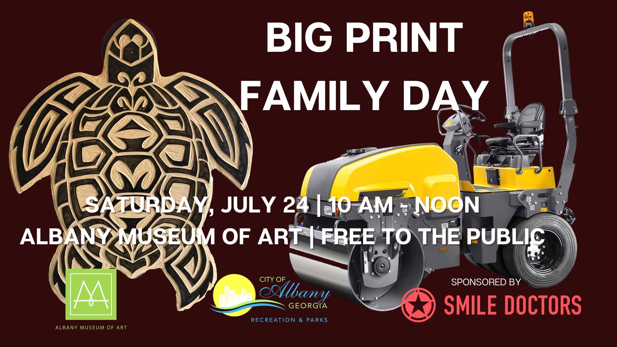 AMA Big Print Family Day