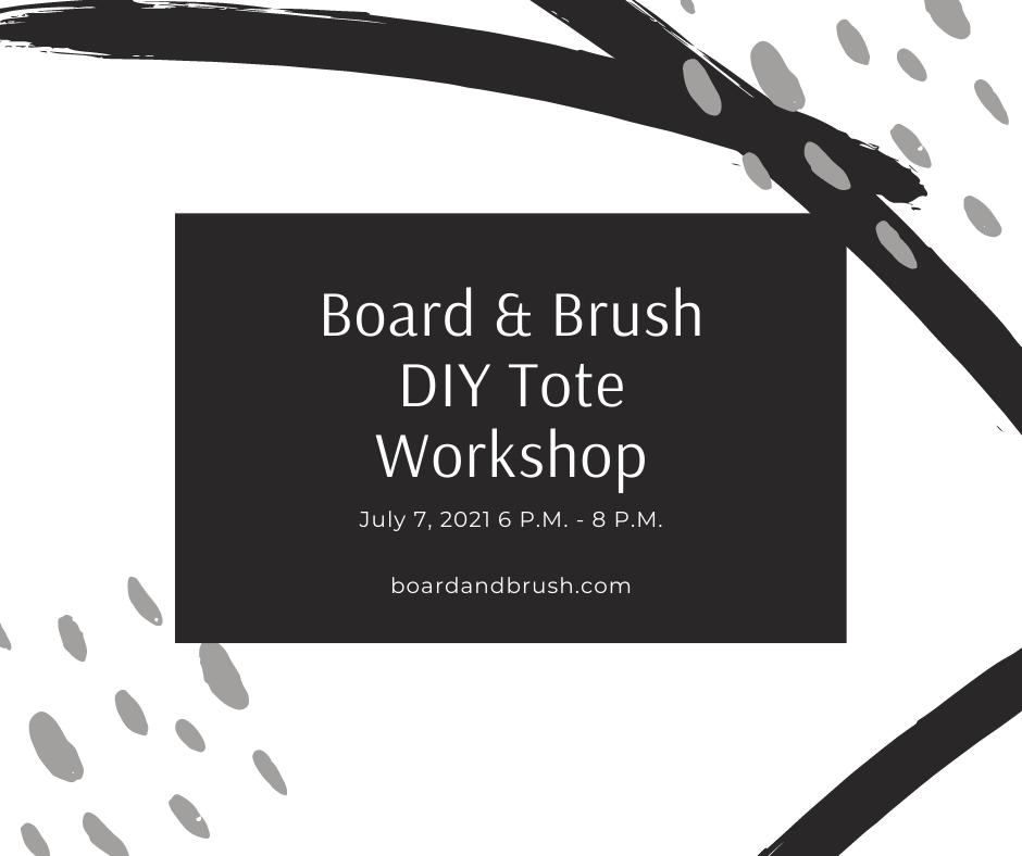 Board & Brush Events