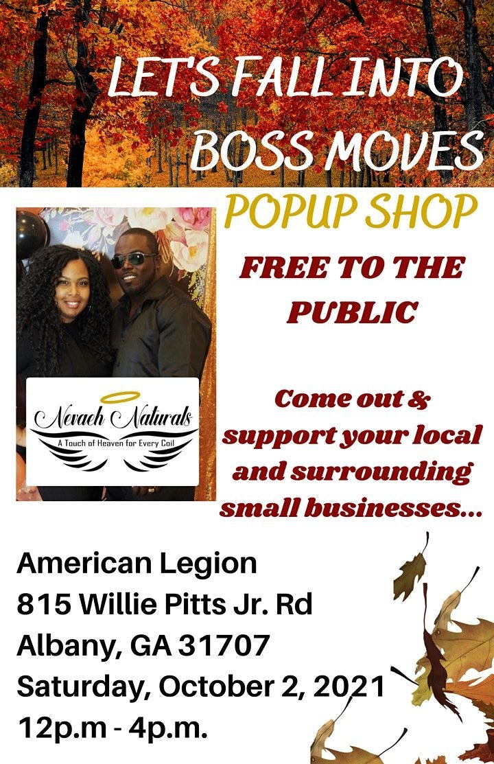 Lets Fall Into Boss Moves Popup Shop