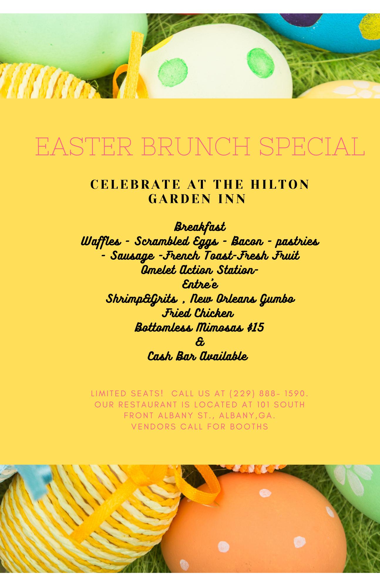 Easter Brunch @ The Hilton Garden Inn