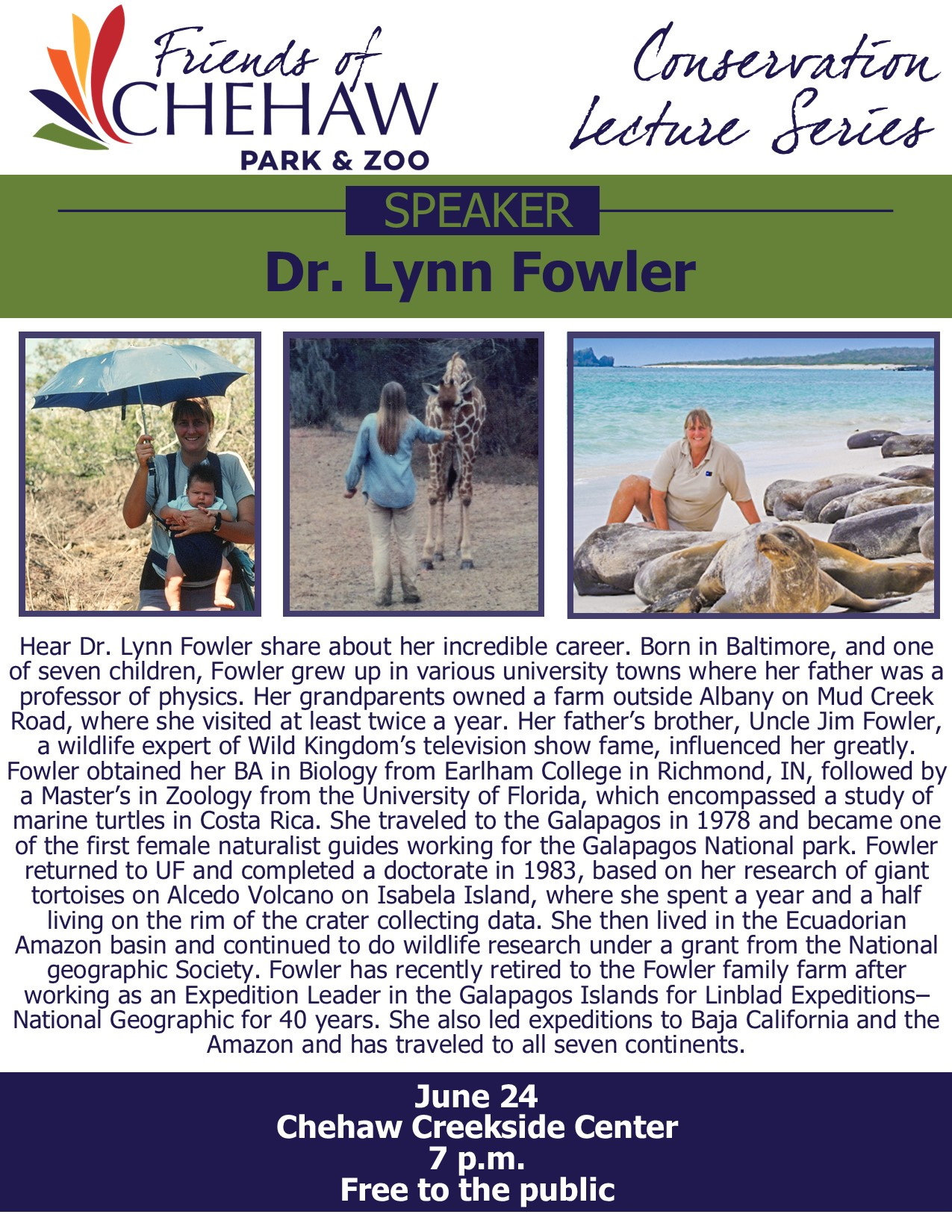 Chehaw Conservation Lecture Series