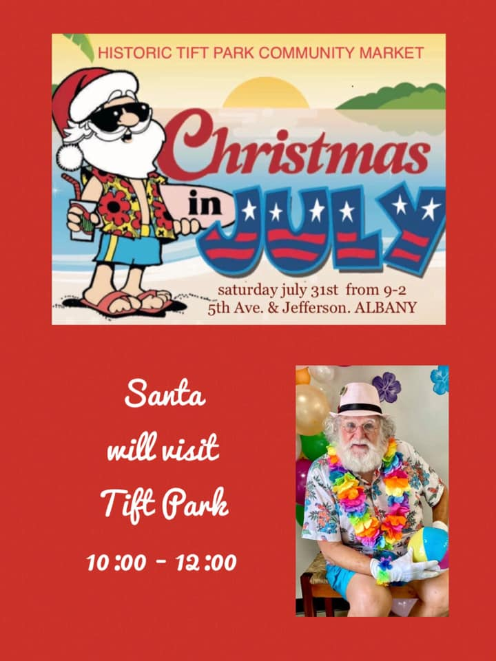 Christmas in July at Tift Park