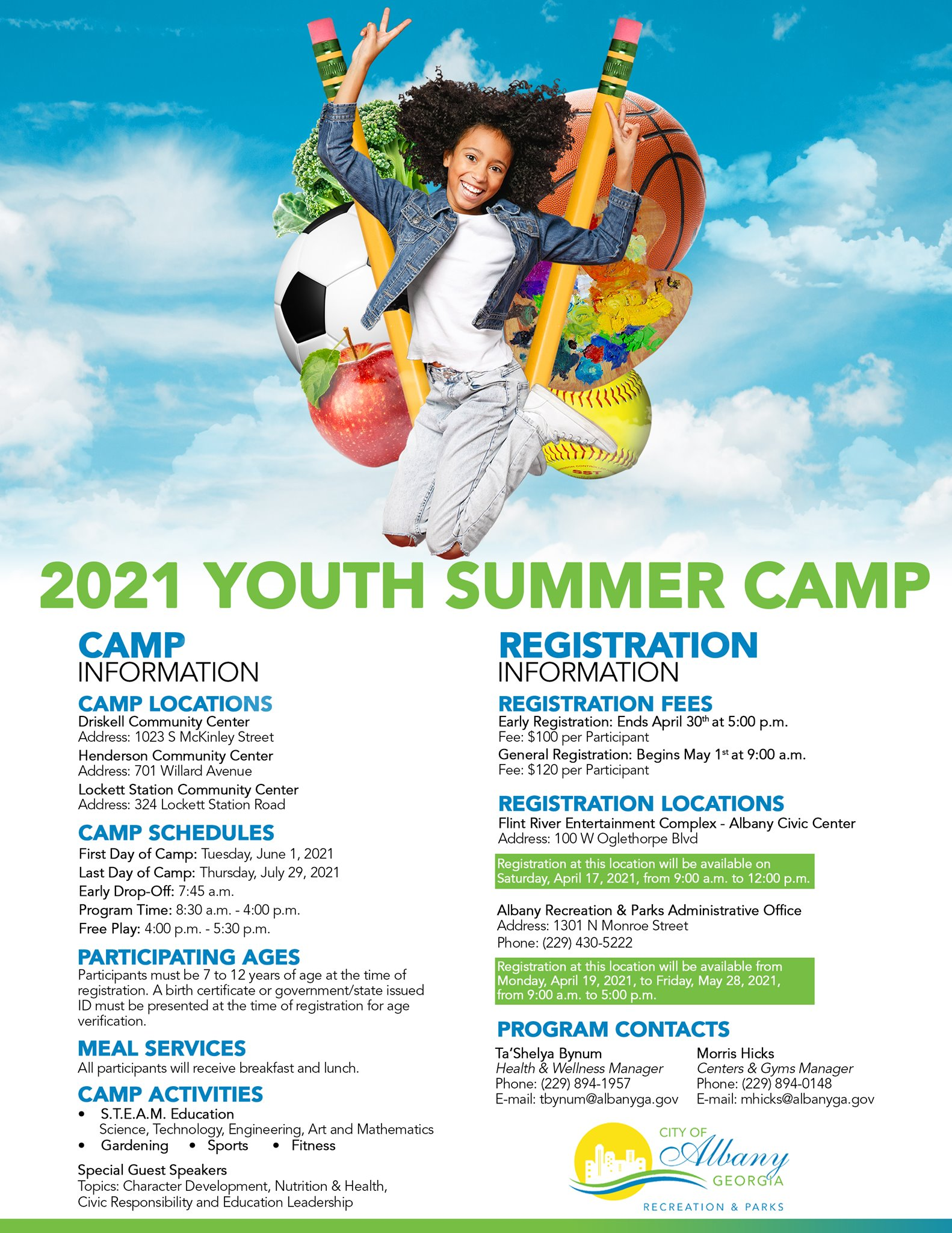 2021 Youth Summer Camp